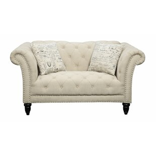 Narcisse Chesterfield Loveseat..
