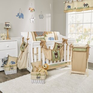 On Safari 18 Piece Crib Bedding Set By Brandee Danielle