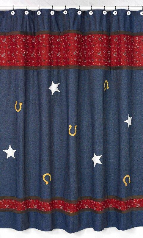 Wild West Cowboy Shower Curtain