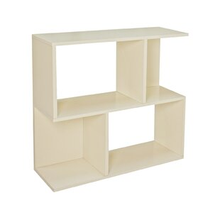 Low Wide 77cm Cube Unit Bookcase By Symple Stuff