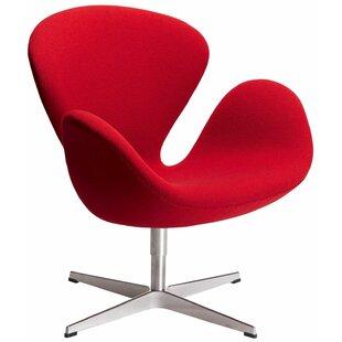 C2A Designs Swan Swivel Lounge Chair