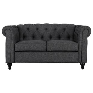 Where buy  Kym Living Room Chesterfield Loveseat by Ophelia & Co. Reviews (2019) & Buyer's Guide