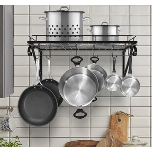 Kitchen Wall Mounted Pot Rack