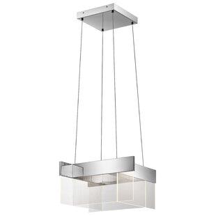 Orren Ellis Daleyza 80-Light LED Geometric Chandelier