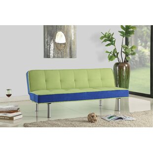 Cavazos Adjustable Flannel Convertible Sofa