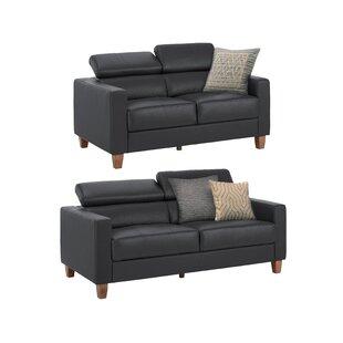 Arcelia 2 Piece Sofa Set By Ebern Designs