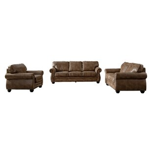 Find the perfect Saltash Leathaire Configurable Living Room Set by Darby Home Co Reviews (2019) & Buyer's Guide
