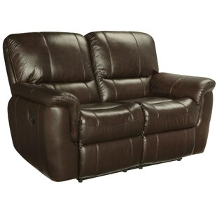 Sudduth Leather Loveseat
