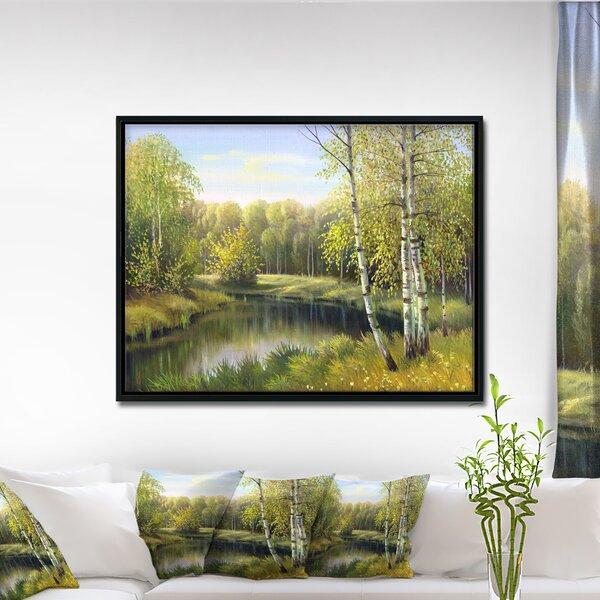 Autumn River Wall Art Wayfair