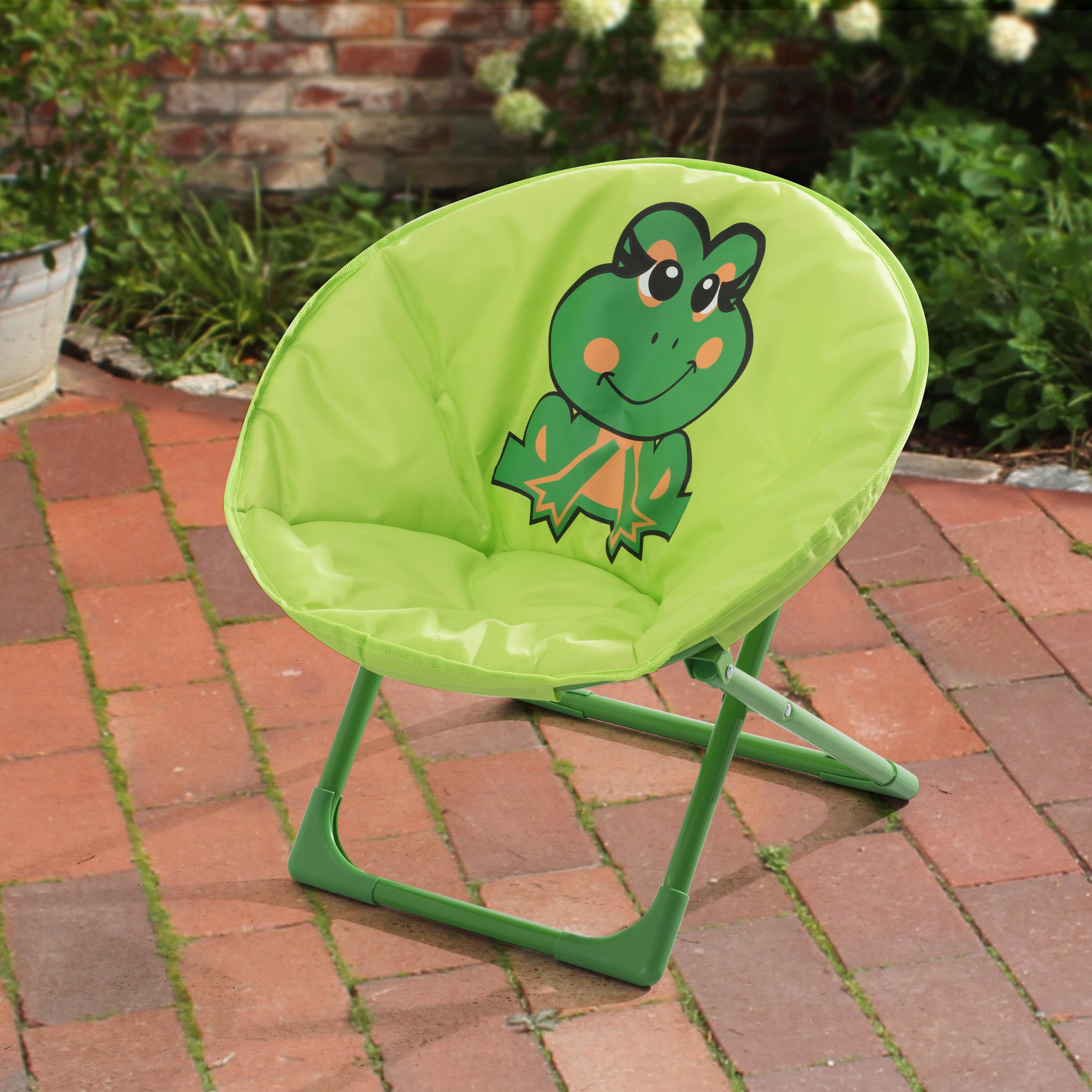 Nathanial Frog Kids Novelty Chair