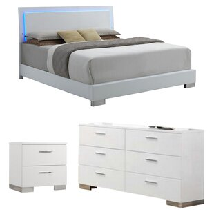 Gibby Upholstered Panel Configurable Bedroom Set by Orren Ellis Cheap