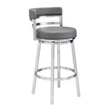 Kenedy Bar & Counter Swivel Stool by Orren Ellis