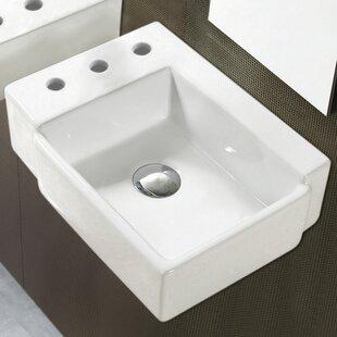 Compare & Buy Ceramic Rectangular Vessel Bathroom Sink ByAmerican Imaginations