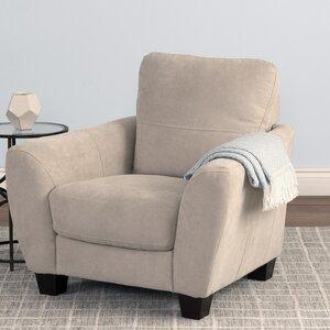 Lacy Chenille Armchair by Latitude Run