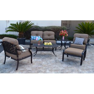Nola 6 Piece Sunbrella Sofa Set with Cushions
