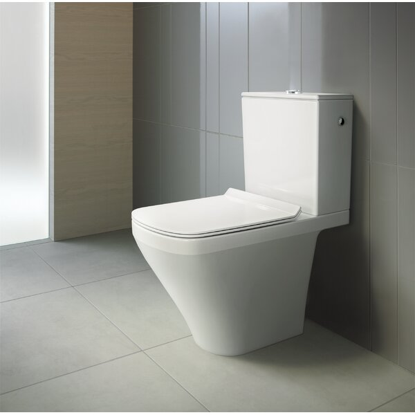 Duravit 1 28 Gpf Water Efficient Elongated Two Piece Toilet Seat Not Included Wayfair