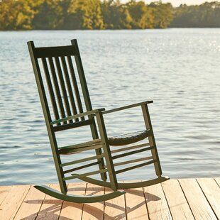 Solid Oak Rocking Chair | Wayfair