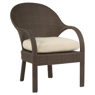 All-Weather Bali Patio Dining Chair (Set of 2) by Woodard