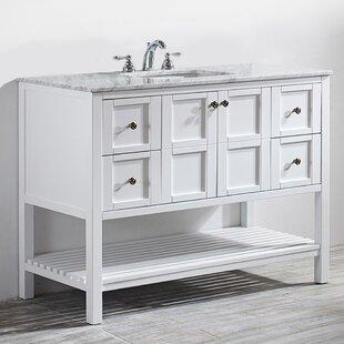 Caldwell 48 Single Bathroom Vanity Set by Beachcrest Home