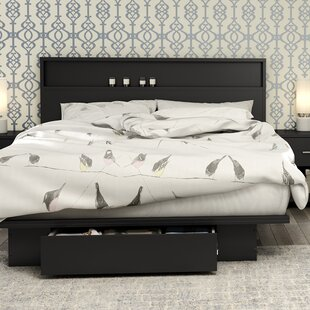 Primo Storage Platform Bed by South Shore Herry Up