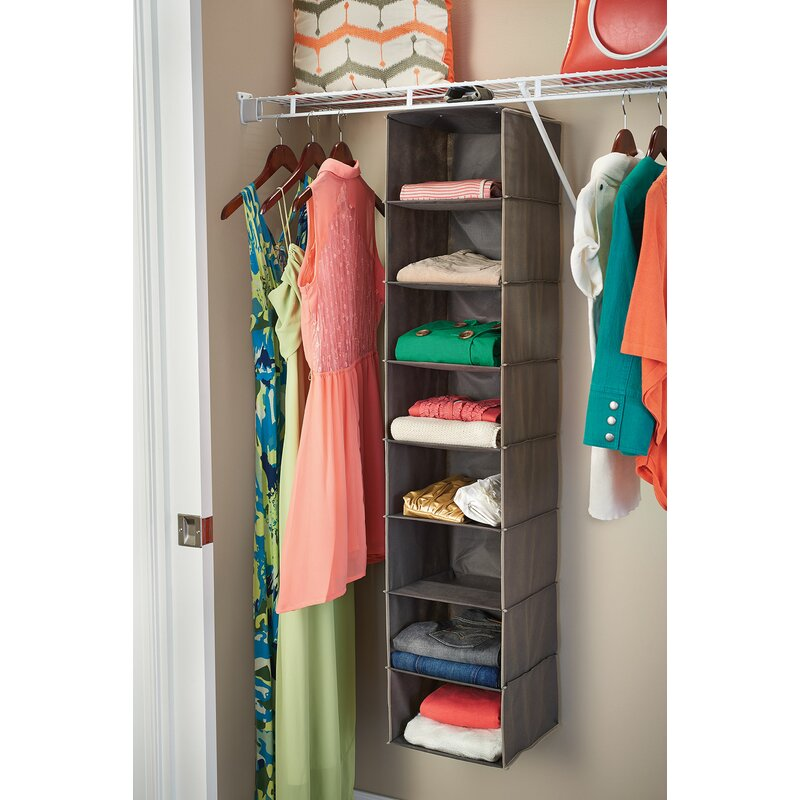 8 Shelf Closet Hanging Organizer
