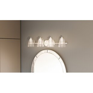 Highland Dunes Haskett 4-Light Vanity Light