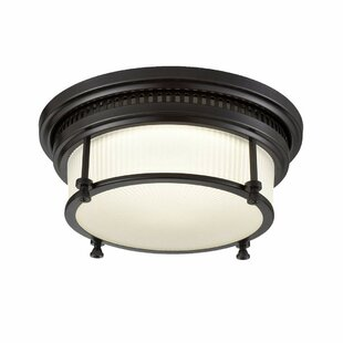 Astoria Grand Gaither 1-Light LED Flush Mount