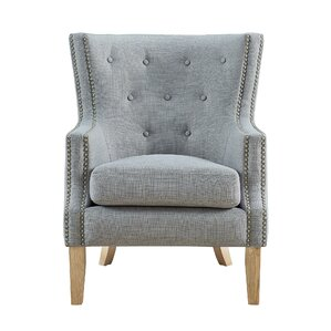 Holstein Wingback Chair by Alcott Hill