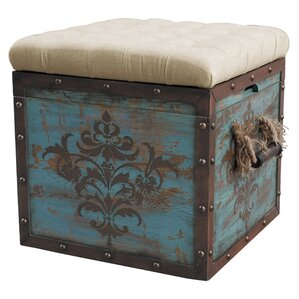 Narron Cube Ottoman by One Allium Way
