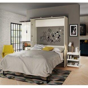Price comparison Juniper Murphy Bed with Desk and Storage Unit ByLatitude Run