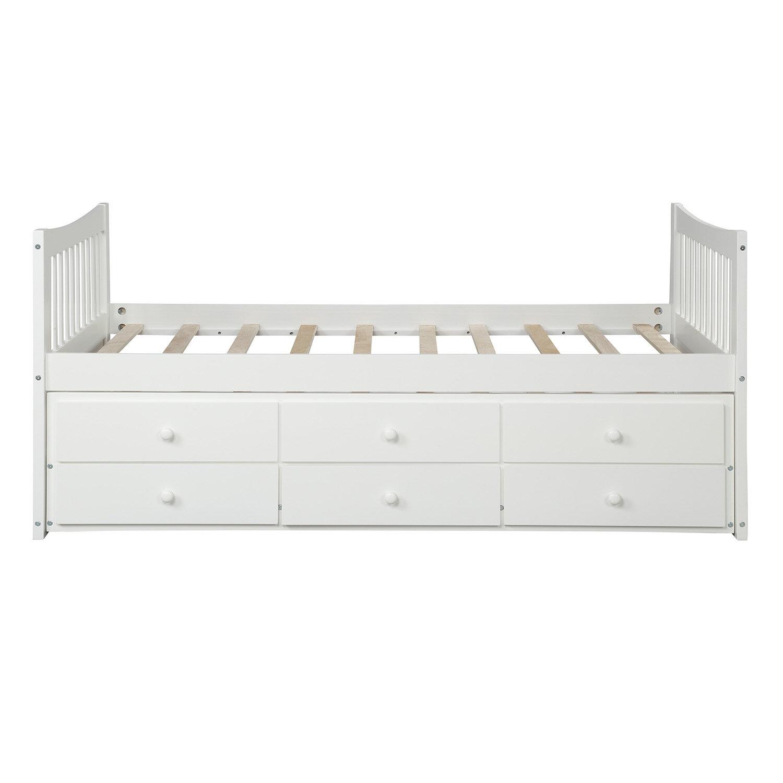Harriet Bee Clayhatchee Kids Twin Bed