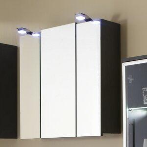 68 cm x 71 cm Spiegelschrank mit LED Beleuchtung..