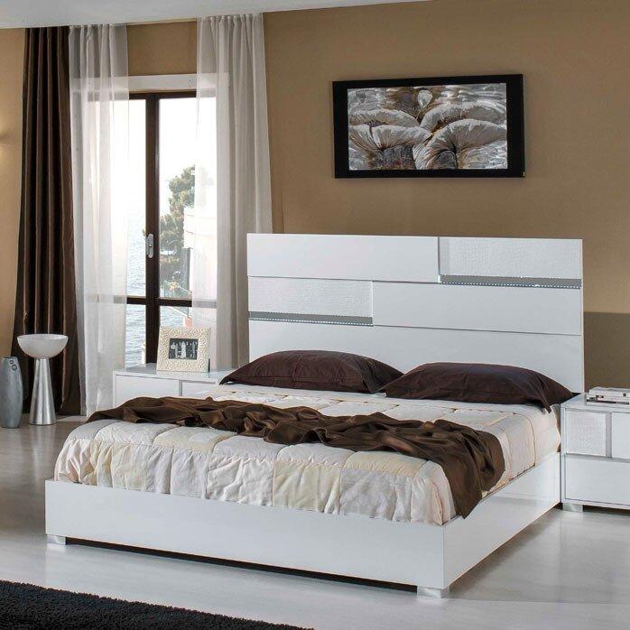 Camron Queen Platform 5 Piece Bedroom Set