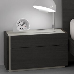 Comet 2 Drawer Nightstand by Brayden Studio