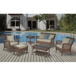Boyles 6 Piece Conversation Set with Cushions