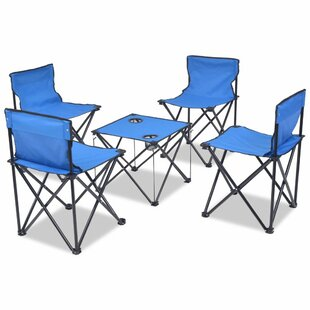 Chaumont 5 Piece Camping Table Set By Sol 72 Outdoor