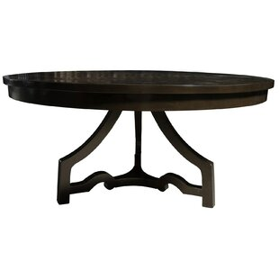 3 Leg Round Dining Table by Noir