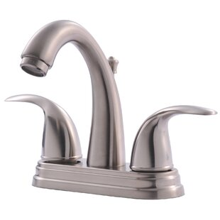 Ultra Faucets Centerset Bathroom Faucet with