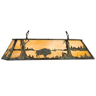 Meyda Tiffany Buffalo 6-Light Pool Table Light
