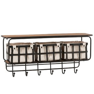 Dingus Wall Mounted Coat Rack By Union Rustic