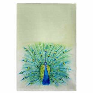Simonds Peacock Hand Towel (Set of 2)