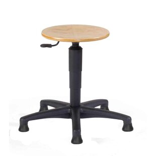 Height Adjustable Utility Stool With Glider By Symple Stuff