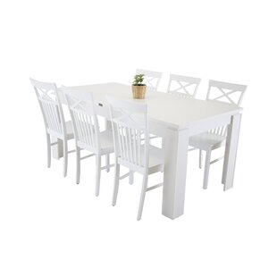 Neill Dining Set With 6 Chairs By 17 Stories