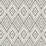 Brawley Geometric Ikat 33' L x 20.5 W Wallpaper Roll by Bungalow Rose