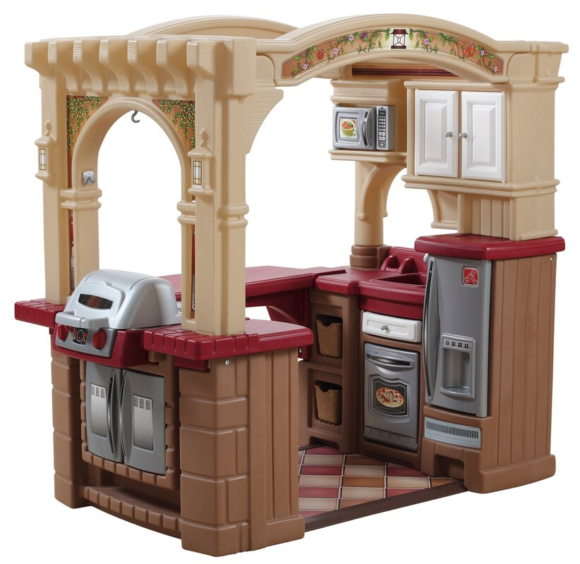 Step2 Grand Walk In Kitchen And Grill Reviews Wayfair
