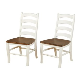 Mack Solid Wood Dining Chair (Set of 2) b..