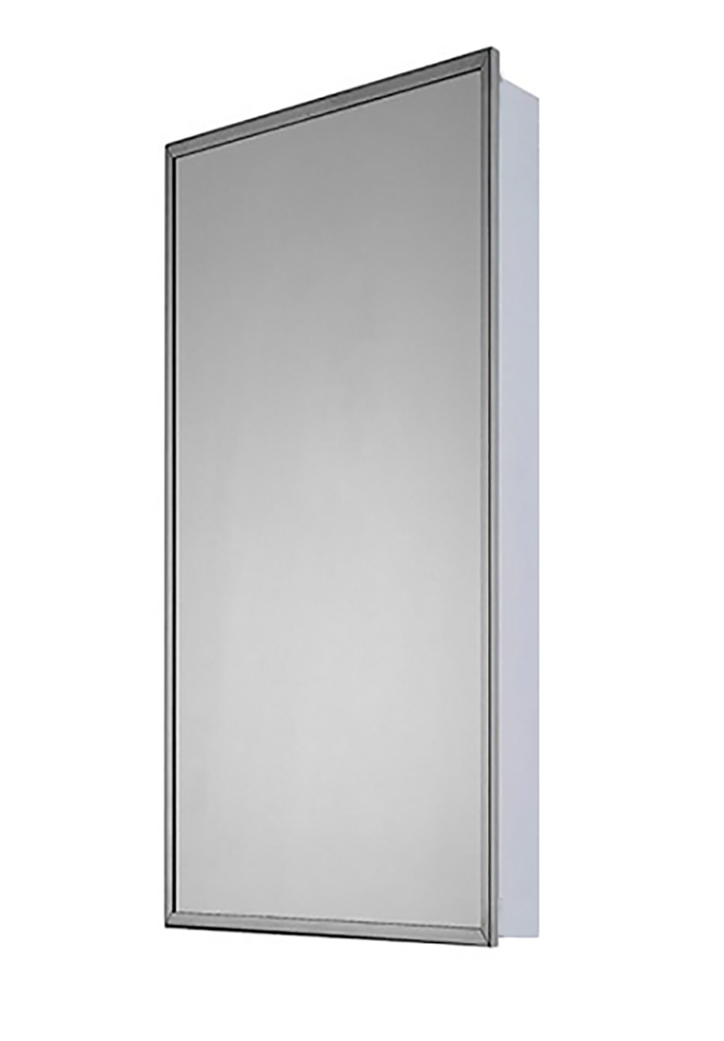 Winston Porter Norita Surface Mount Framed 1 Door Medicine Cabinet With 7 Adjustable Shelves Wayfair