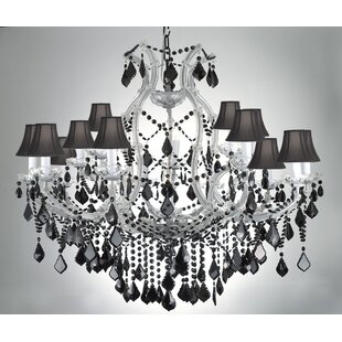 House of Hampton Keenum 16-Light Shaded Chandelier