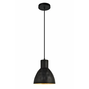 Wrought Studio Reinhold 1-Light Bell Pendant
