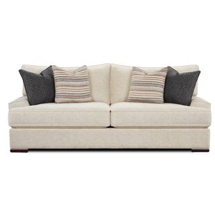 Arborglen Cream Sofa by Wrought Studio Great Reviews